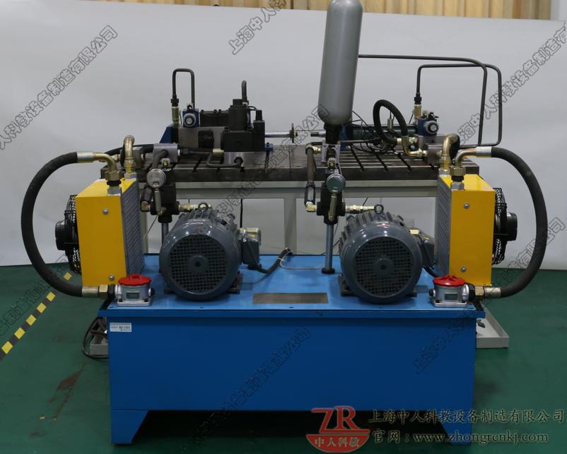 泵-缸液压实训装置