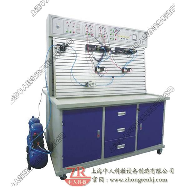 透明液压与气动PLC控制综合实训装置(组态软件控制)
