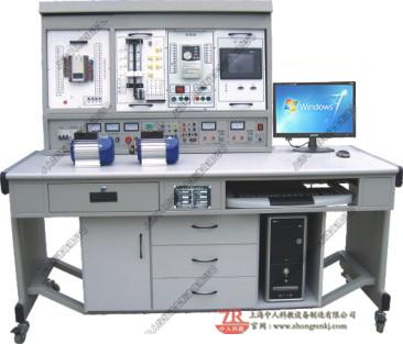PLC可编程控制器、变频调速、电气控制及单片机实验开发系统综合实验装置(网络型)