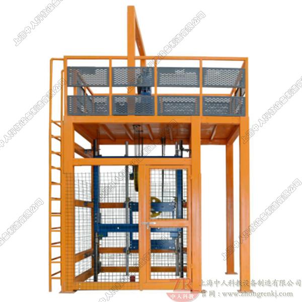 电梯曳引系统安装实训考核装置