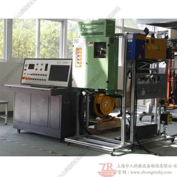电梯控制系统及曳引机一体化检测实训平台